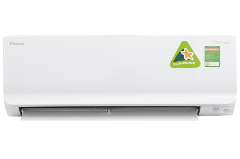 Máy lạnh Daikin Inverter 1.5 HP FTKM35SVMV - Công nghệ Hybrid Cooling kiểm soát độ ẩm tối ưu, Tự ngắt điện không ổn định, Hoạt động siêu êm, Hẹn giờ hàng tuần,Thổi gió dễ chịu(cho trẻ em, người già),Làm lạnh nhanh