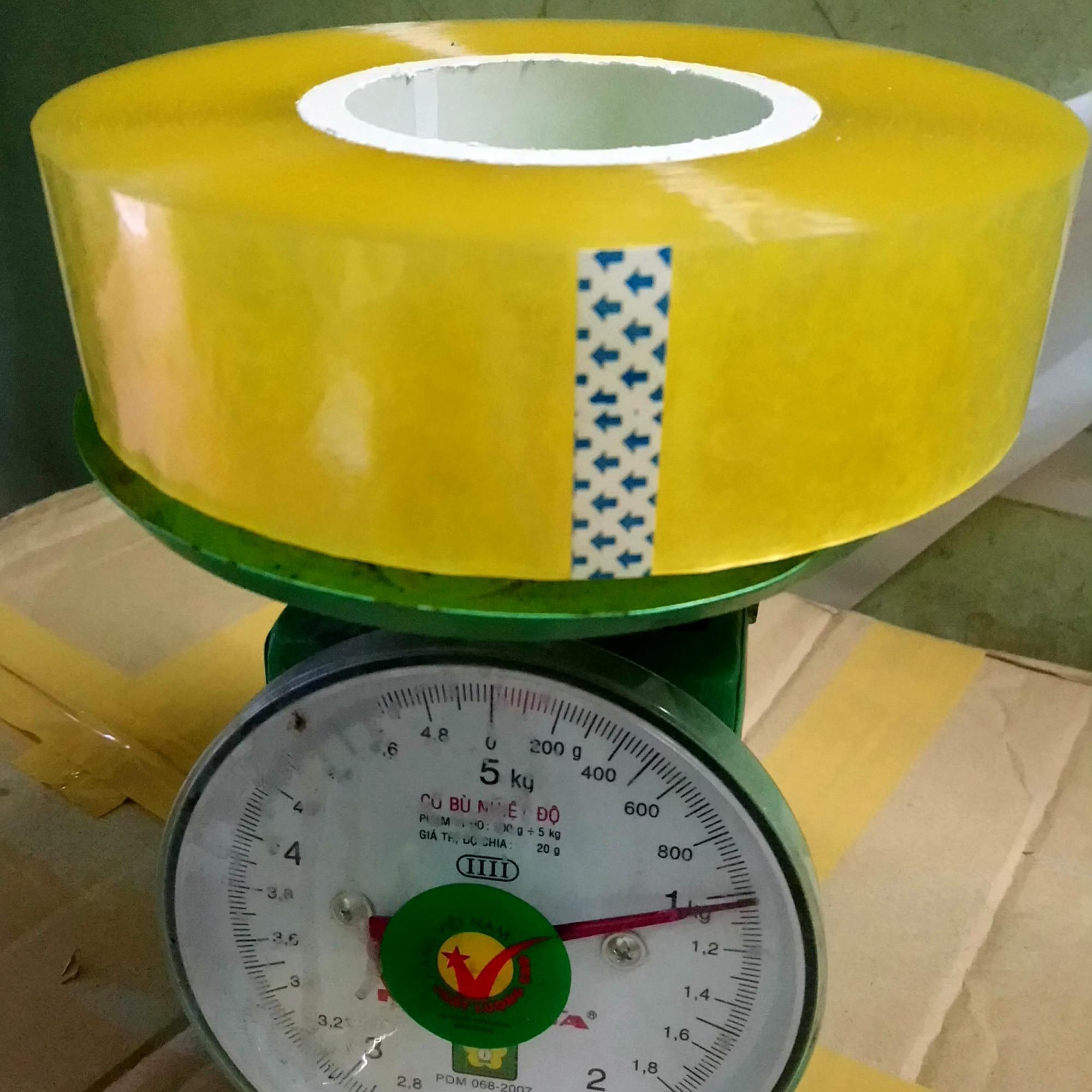 Mua Băng dính 1kg/ 1cuộn lõi nhựa ,thích hợp các shop đóng hàng ,siêu rẻ, siêu tiết kiệm