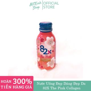Nước Uống Đẹp Da Mà Giữ Dáng 82X The Pink Collagen Hộp 10 lọ thumbnail