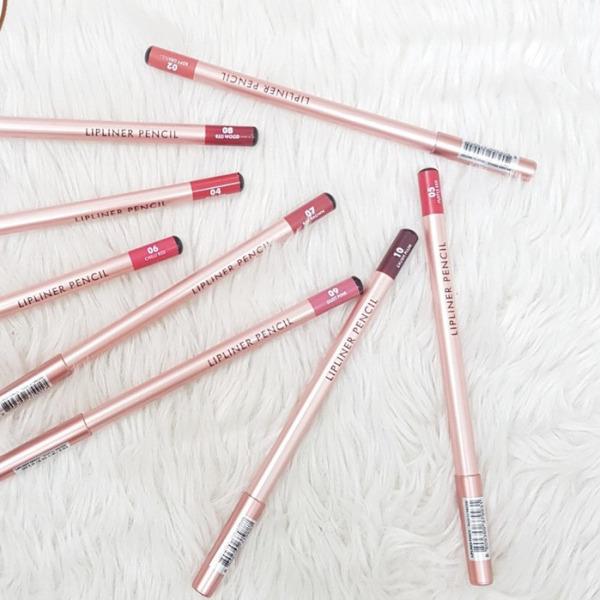 Chì kẻ môi VACOSI Lipliner Pencil - Bản mới 3g giá rẻ