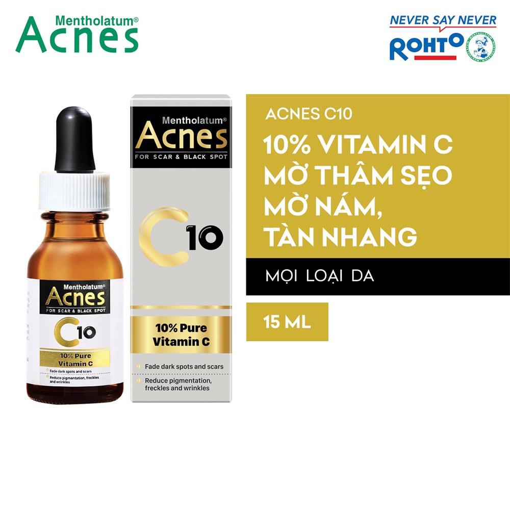 Dung dịch Vitamin C dưỡng da Acnes C10 15ml