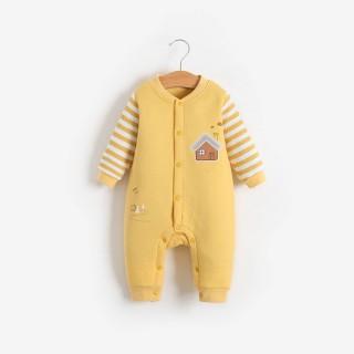 Body liền thân trần bông bodysuit dài tay cotton cho bé trai và bé gái sơ sinh từ 3-15kg hàng đẹp xuất Hàn - BD44 thumbnail