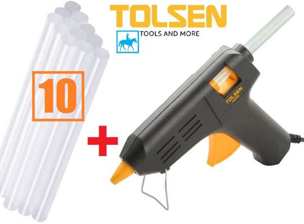 Súng bắn keo điện keo đèn cầy Tolsen 79105 tặng 10 cây keo - 79105,  sản phẩm đa dạng về mẫu mã, kích cỡ, chất lượng đảm bảo, cam kết hàng nhận được giống với mô tả