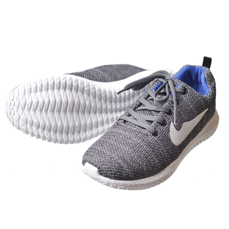 Giày Sneaker Thể Thao Nam Xám BT86 Cao Cấp