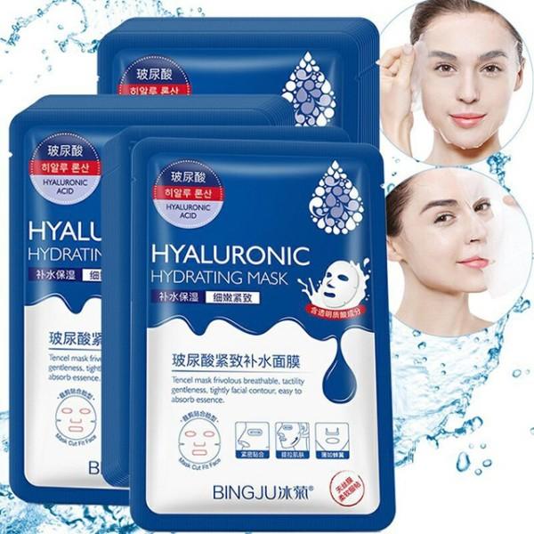 [HCM]Mặt Nạ Cấp Nước Dưỡng Da Hyaluronic Hydrating Mask Bingju giá rẻ