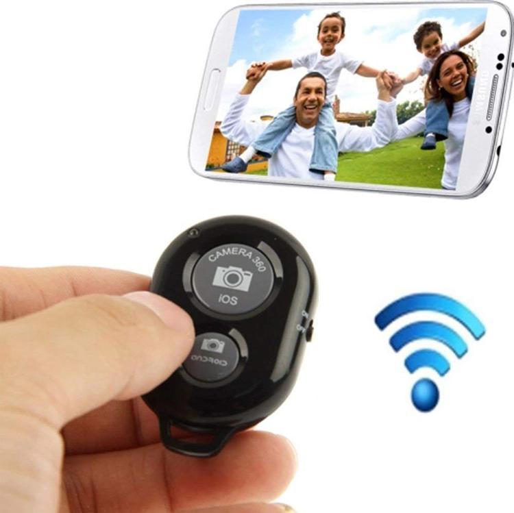 Remote Chụp Ảnh Bluetooth Cho Điện Thoại - Máy tính bảng, remote chụp hình từ xa, remote bluetooth, chụp ảnh