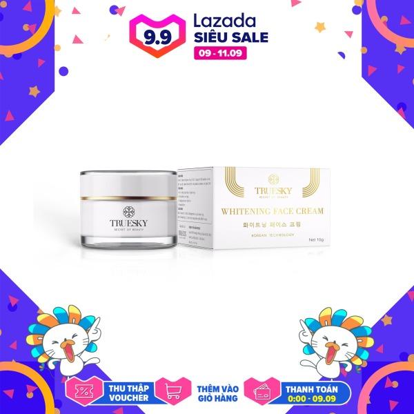 Kem dưỡng trắng da mặt Truesky dạng lotion thẩm thấu nhanh 15g - Whitening Face Cream nhập khẩu