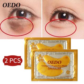 2 miếng mặt nạ OEDO dưỡng da cho mắt có chứa collagen tinh thể vàng, chống lão hóa - INTL thumbnail