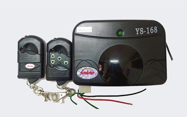 Bộ điều khiển cửa cuốn yyuan chính hãng loại xịn kèm 2 tay điều khiển từ xa