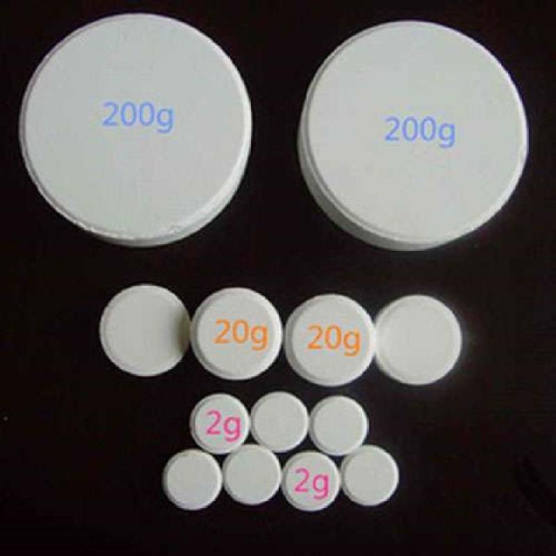 Clorine dạng viên 200gam - 5kg Hóa chất Clorine dạng viên 200gam xử lý nước bể bơi