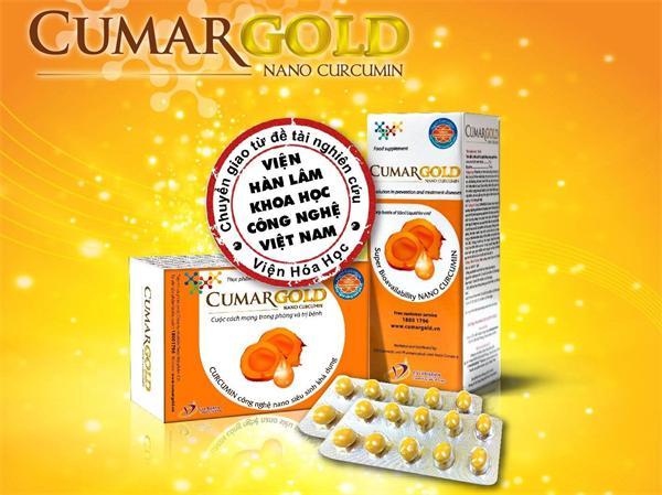 Thực phẩm bảo vệ sức khỏe tinh nghệ Nano CumarGold - CVI Pharma