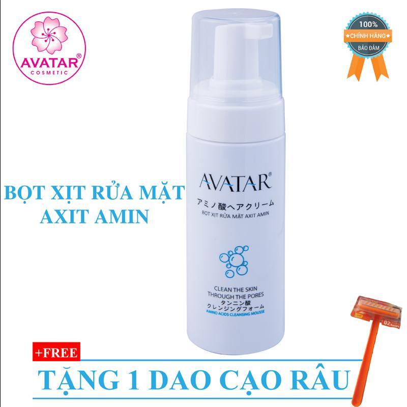 Bọt xịt rửa mặt Axit Amin - Sữa Rửa Mặt Dạng Bọt Làm Sạch Dành Cho Da Dầu Nhạy Cảm Avatar tốt nhất