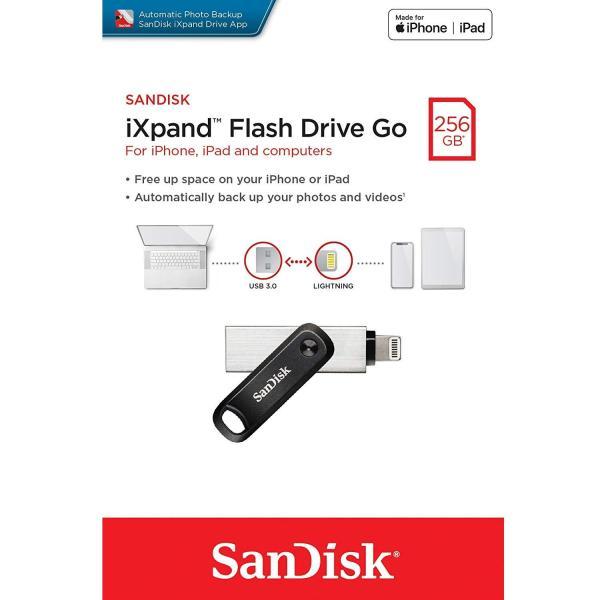 Bảng giá USB 3.0 OTG SanDisk iXpand Flash Drive Go 256GB (Bạc) - Phụ Kiện 1986 Phong Vũ