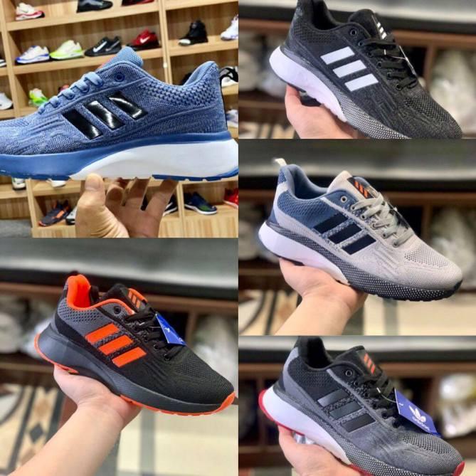 [ Ảnh thật video] giày thể thaon nam  adidasss 3 vạch giá rẻ