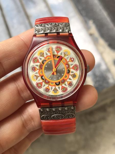 [HCM]Đồng hồ Swatch Swiss thiết kế ấn tượng cá tính