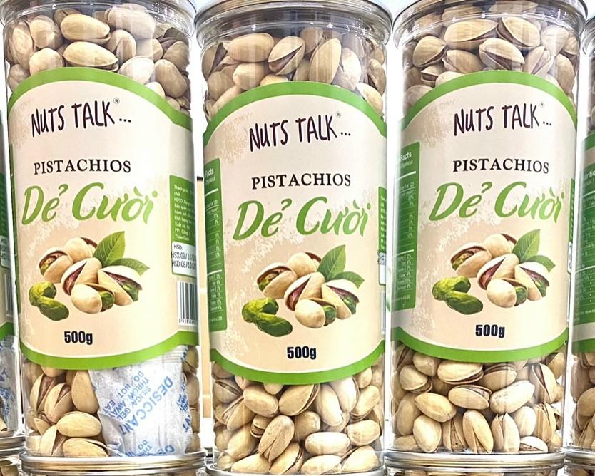500G Hạt Dẻ Cười Nuts Talk -Nuts Talk-Đồ Ăn Vặt-Ăn Vặt- Uy Tín (chỉ giao  TPHCM) | Lazada.vn