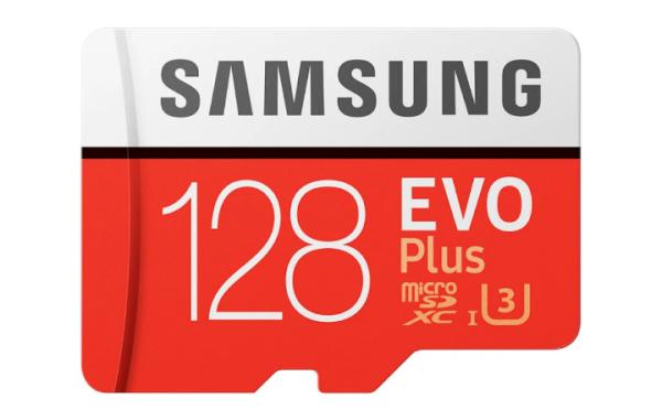 [New 2021]  Thẻ nhớ MicroSDXC Samsung Evo Plus 128GB UHS-I U3 4K 100MB/s kèm Adapter - box Anh