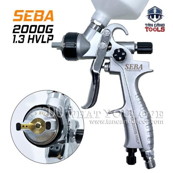 Súng Phun Sơn Seba 2000G 1.3 mm HVLP 600 cc