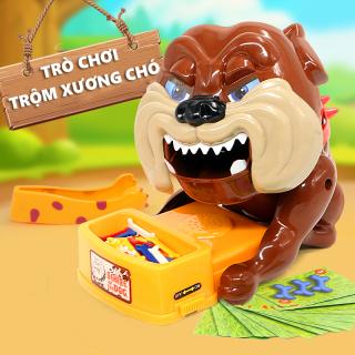 Bộ đồ chơi, Trò chơi trộm xương chó bull, Đồ chơi gấp xương chó loại cao cấp, chơi vui nhộn, âm thanh sống động như thật thumbnail