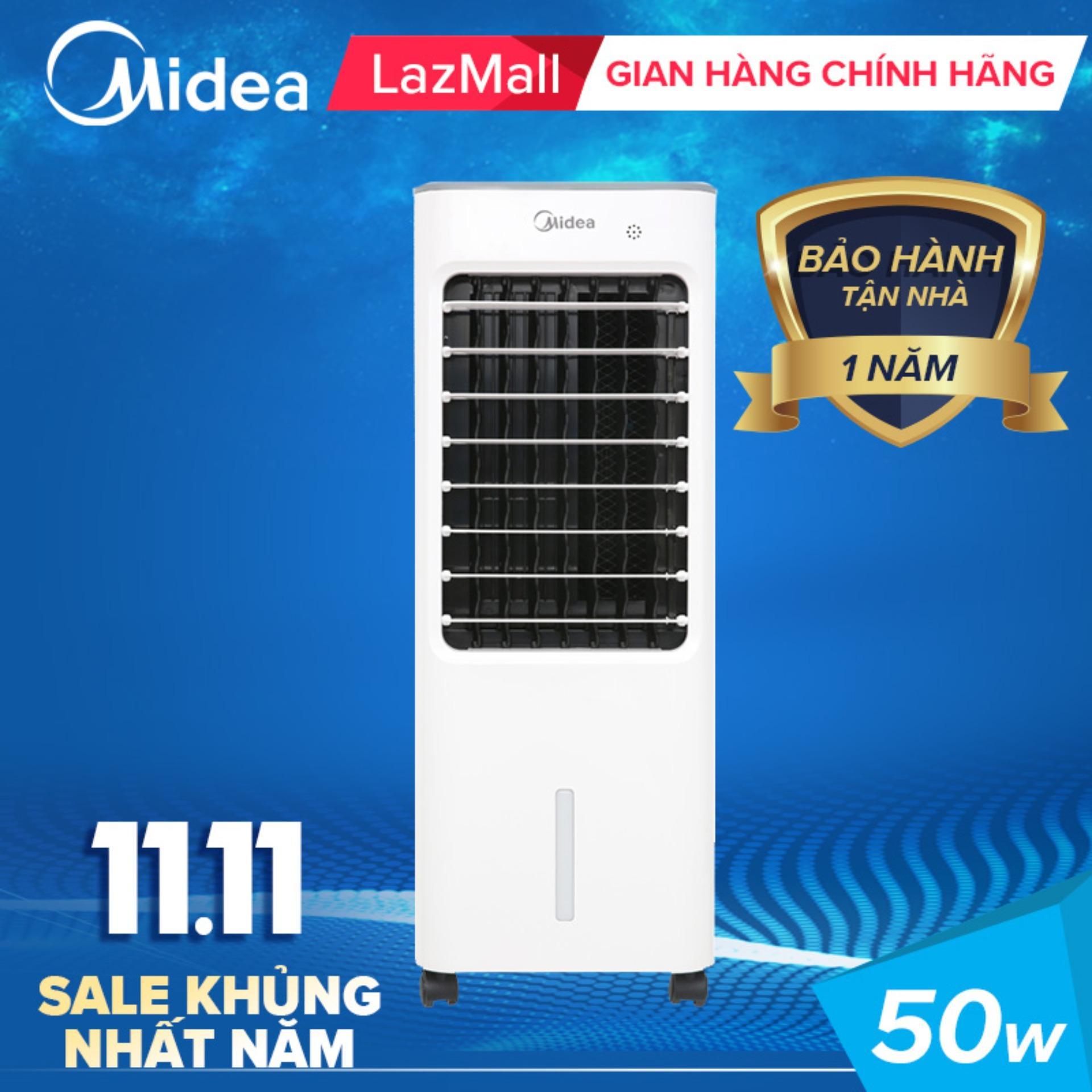Bảng giá Midea quạt điều hòa remote 50W AC100-18BR