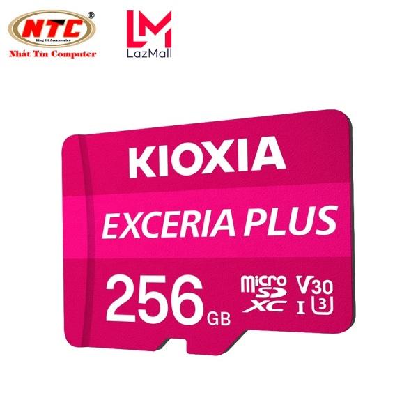 Thẻ nhớ MicroSDXC Kioxia Exceria Plus 256GB U3 4K V30 A1 R100MB/s W85MB/s (Tím) - Formerly Toshiba Memory