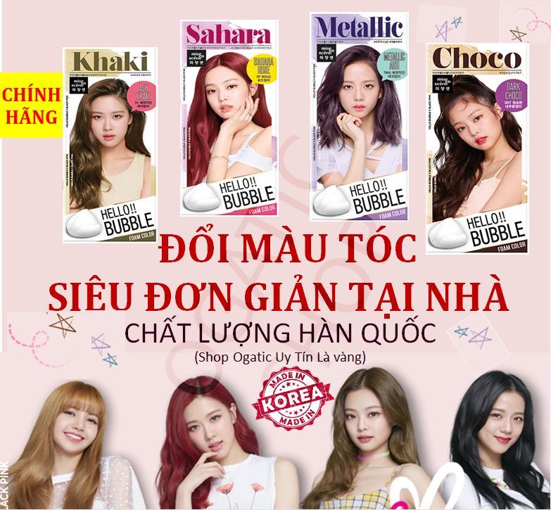 Nhuộm Tóc Bọt Biển Hello Bubble Mise En Scene Hàn Quốc chính hãng