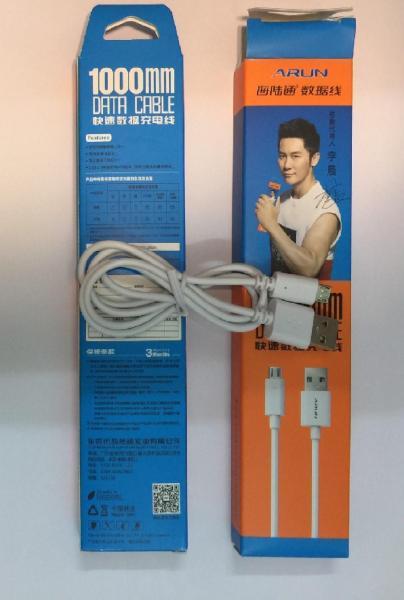 Bảng giá Cáp sạc điện thoại Arun Micro USB dành cho Android dài 1m Phong Vũ