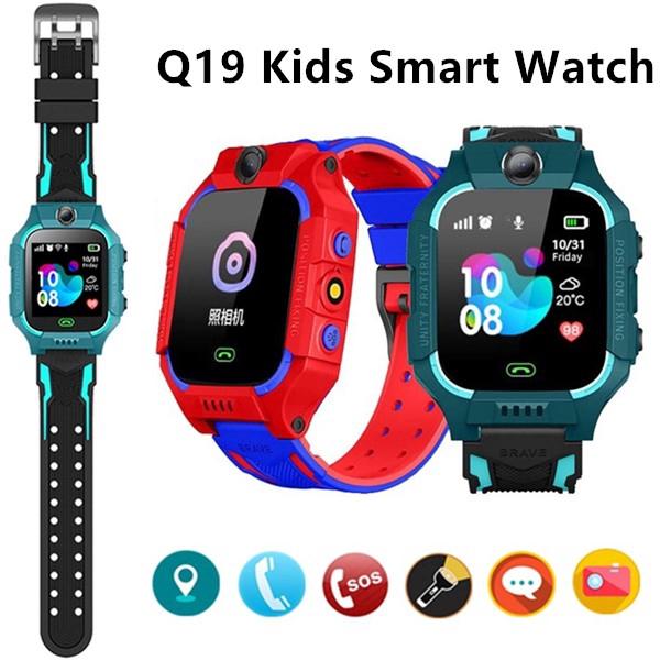 [Phiên bản 6 mới nhất 2021]Đồng hồ định vị trẻ em Q19-Chống nước chuẩn IP67,định vị trạm, nghe gọi, nhắn tin 2 chiều, báo thức, gọi và báo thức , camera giám sát từ xa-sử dụng liên tục 2 ngày Bảo Hành Uy Tín 12T