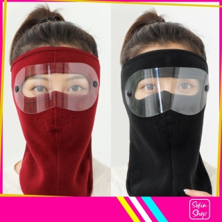 Khẩu Trang Ninja Nin Ja Nam Nữ Vải Nỉ Che Kín Mặt Chống Nắng Chống Bụi Có Kính - Khau Trang Ninja Nin Ja Nam Nu Vai Ni Che Kin Mat Chong Bui Chong Nang Chong Ret Co Kinh KTDCK12 - ShopSofia thumbnail