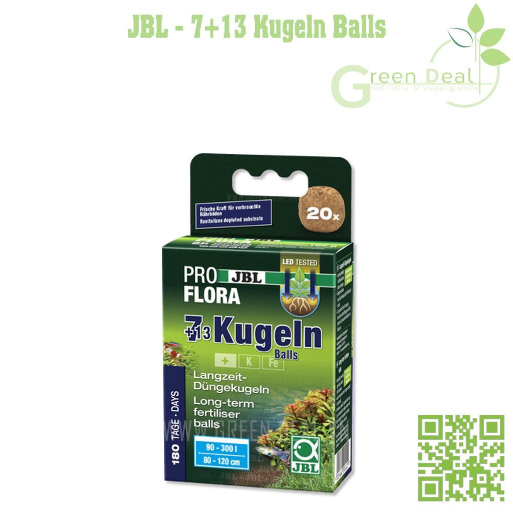 JBL - 7+13 Kugeln Balls (Hộp 20 viên) - Phân nhét cao cấp cho hồ thuỷ sinh
