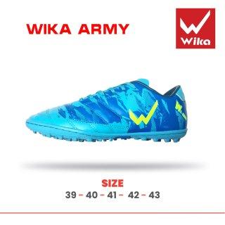 Giầy bóng đá phủi Wika Army đế TF kèm hộp ( giầy đá bóng đá banh WIKA sân cỏ nhân tạo ) - Đã khâu toàn bộ đế thumbnail
