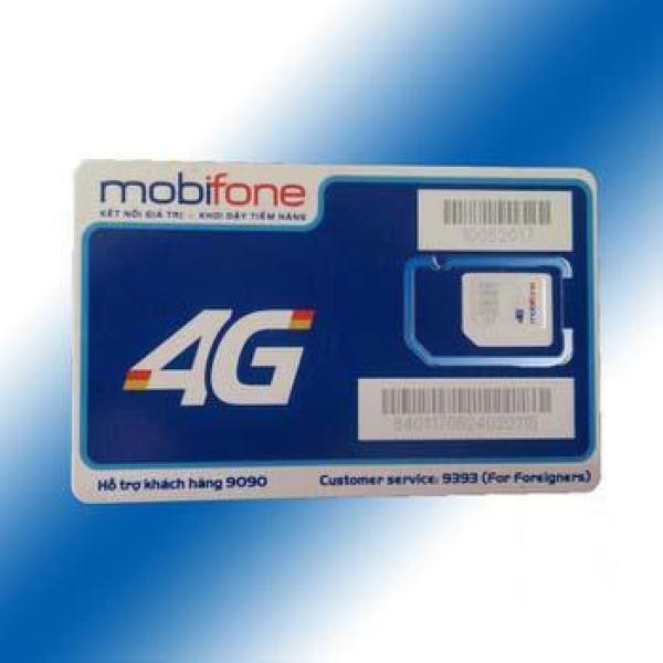 Giá Sim 4G Mobifone MDT250A trọn gói 12 tháng mỗi tháng 4GB tốc độ cao