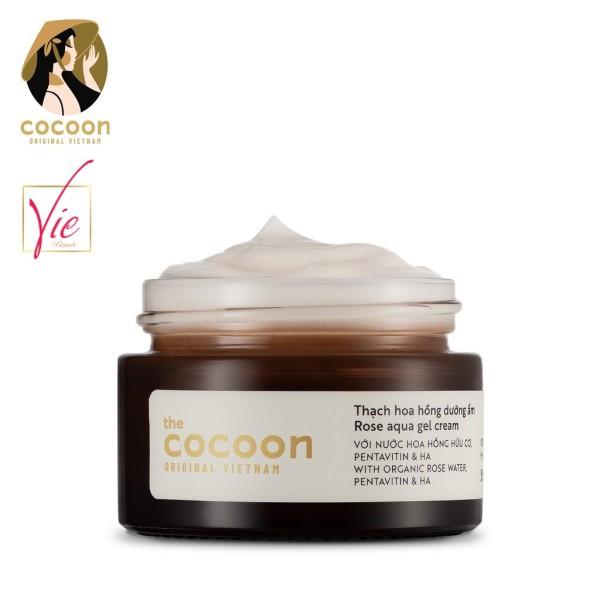 Kem Dưỡng Ẩm COCOON Dạng Thạch Hoa Hồng - COCOON Rose Aqua Gel Cream