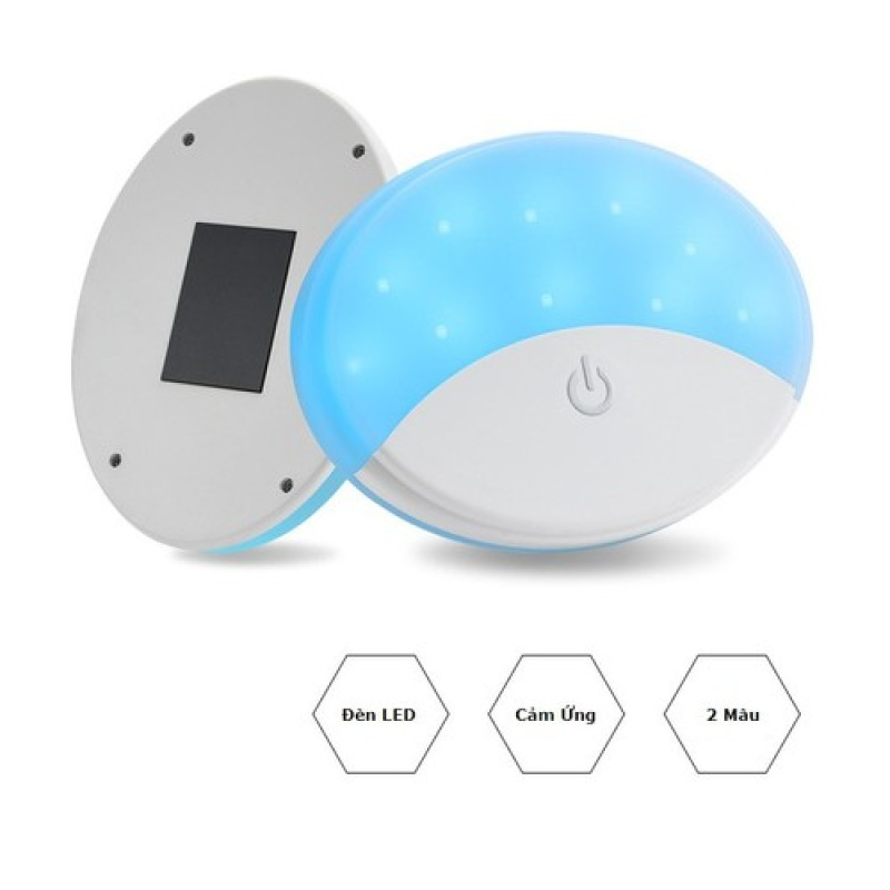 Đèn LED dán trần xe hơi CẢM ỨNG , sạc bằng cổng USB-CÓ TÍCH HỢP PIN DUNG LƯỢNG CAO