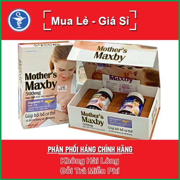 MOTHERS MAXBY 500MG - Bổ sung dương chất cho cơ thể Hộp 60 viên / MOTHER MAXBY