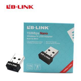 Bộ Thu wifi đầu usb Lb link 151- bộ thu wifi không dây- bộ thu wifi lb link- bộ thu wifi mercury- bộ thu wifi cho pc- tốc độ 150Mb giá rẻ- VISION TECH thumbnail
