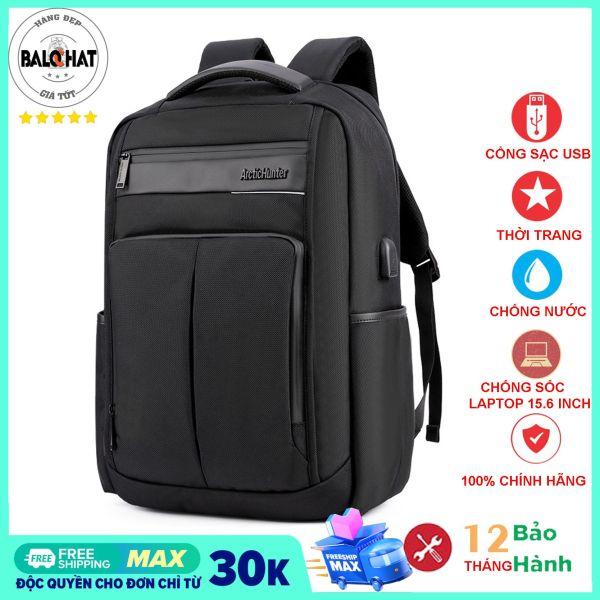 Balo laptop thời trang Arctic Hunter B00121 phong cách doanh nhân, siêu bền chống thấm nước