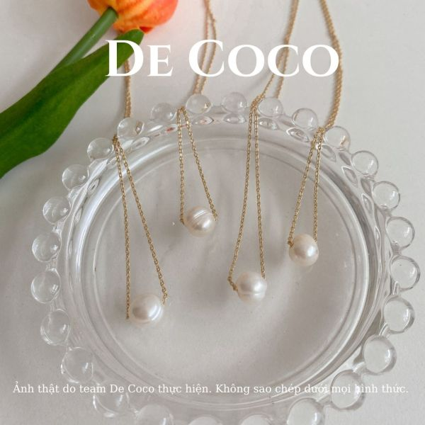 Dây chuyền nữ vintage baroque style De Coco Decoco