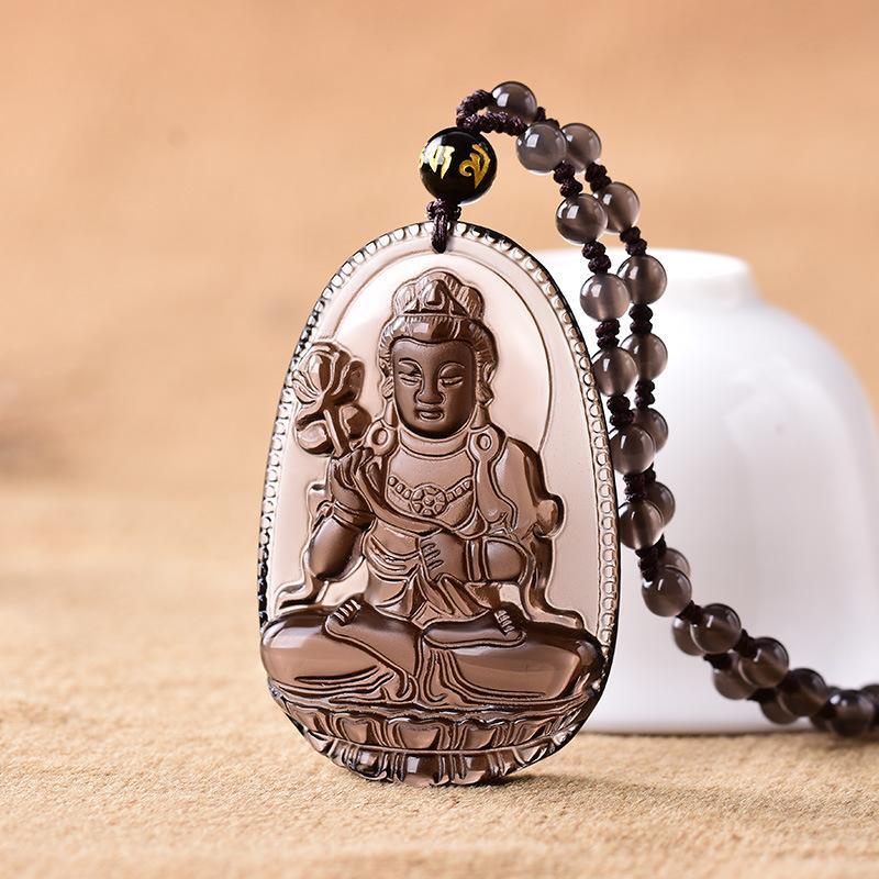 iWATCH - Dây chuyền Đại Thế Chí Bồ Tát - Phật bản mệnh tuổi Ngọ - Vòng Cổ Phật - Chuỗi Hạt Phật
