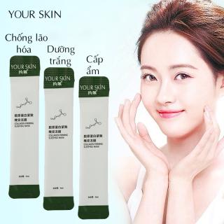 [GIÁ DÙNG THỬ] 2 mặt nạ ngủ collagen YOUR SKIN dưỡng sáng da & chống lão hóa mặt nạ ngủ dưỡng ẩm mặt nạ ngủ dạng gel mặt nạ nội địa Trung TK-MN302 thumbnail