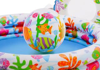 Bể Bơi Phao 3 Chi TIết Kèm Bóng Và Phao Bơi Cho Bé - Bể phao cầu vòng kèm bóng và phao - đồ dùng sinh hoạt cho bé - đồ chơi vận động cho bé - hồ phao cao cấp - đồ chơi cho bé ngày hè - hồ chứa nước - đồ dùng sân vườn - phát triển trí tuệ 8