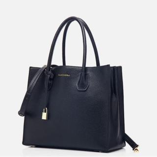 Túi xách tay trang cao cấp phong cách Pháp TX079 - ĐEN thumbnail