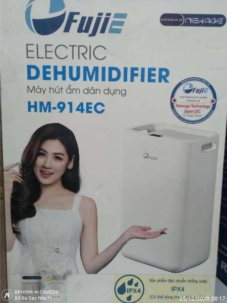 Máy hút ẩm dân dụng FujiE HM-914EC (Dùng trong phòng 15-20m2)
