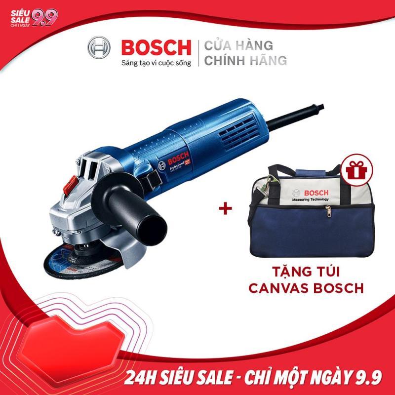 Máy mài góc Bosch GWS 750-100 Tặng túi Canvas Bosch