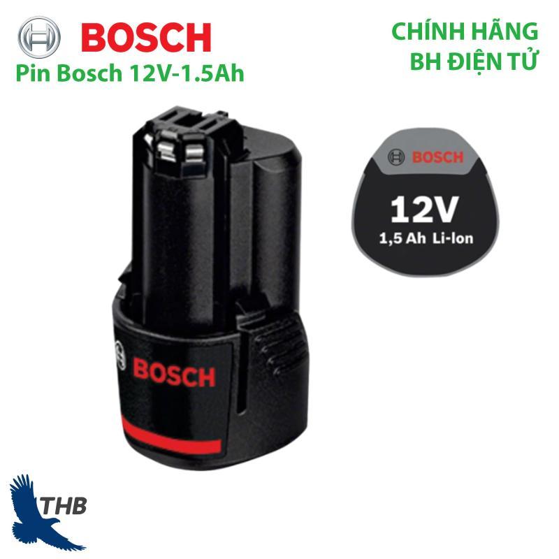 Pin Bosch 12V-1.5Ah dùng cho dụng cụ cầm tay Bosch bảo hành điện tử 6 tháng