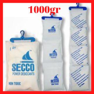 [Silicagel BIG] Gói hút ẩm LOẠI 1000 Gram Silicagel - Hạt chống ẩm mốc, khử mùi, treo trong phòng, xe, ..., chống ghỉ set , ... thumbnail