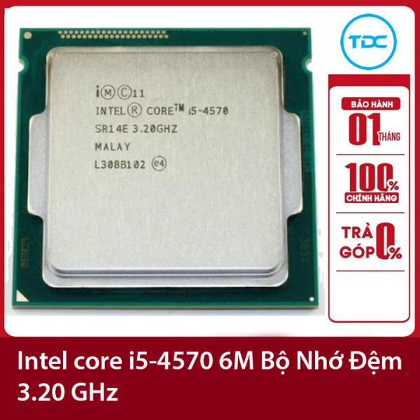 Bảng giá Bộ vi xử lý Intel CPU Core i5-4570 3.20GHz ,84w 4 lõi 4 luồng, 6MB Cache Socket Intel LGA 1150 Phong Vũ