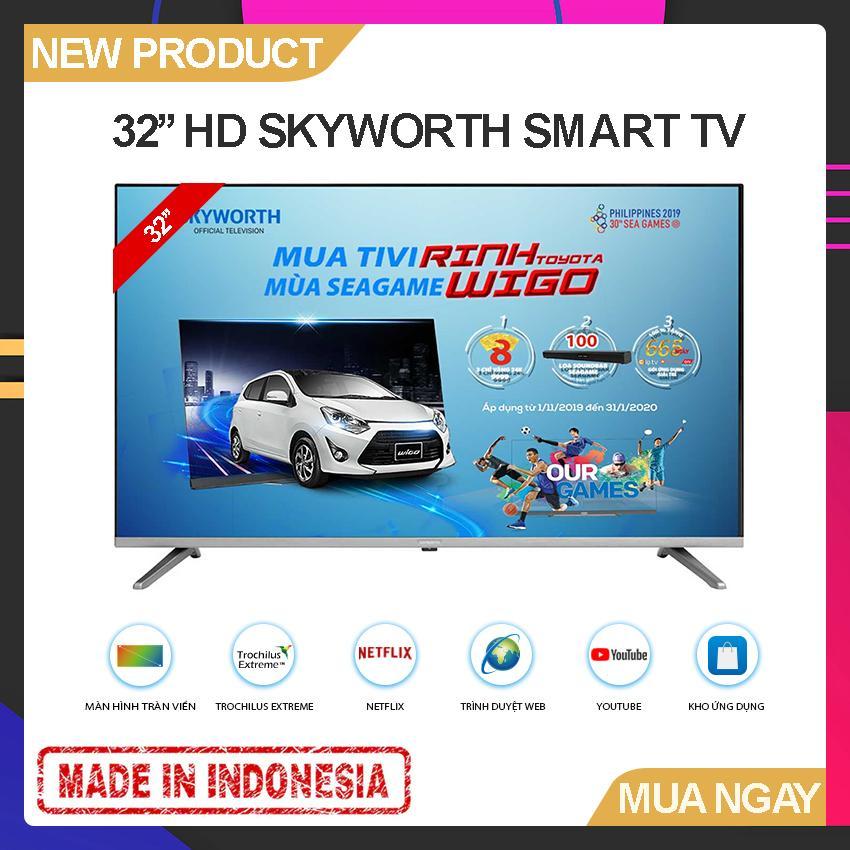 Bảng giá Smart TV Skyworth 32 inch HD - Model 32TB5000 Tràn viền, Youtube, Kết nối với điện thoại - Bảo Hành 2 Năm