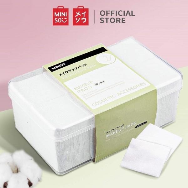 Bông Tẩy Trang Miniso Miếng Mỏng (1000 miếng) nhập khẩu
