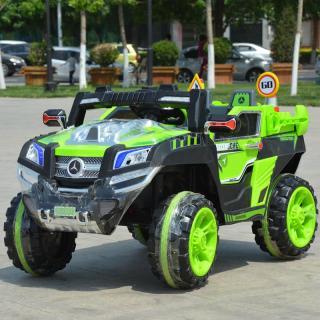 Ô tô xe điện đồ chơi MERCEDES NEL-803 mẫu địa hình cho bé tự lái hoặc có điều khiển (Đỏ-Vàng-Xanh) thumbnail
